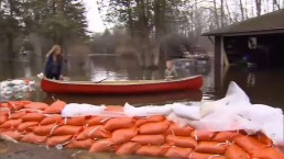 Belleville river still rising with rain in the forecast