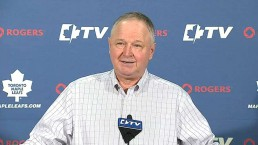 Randy Carlyle says he hasn't formally sat down with Brendan Shanahan
