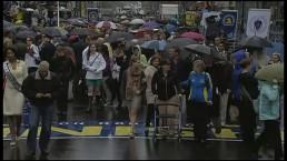 Solemn tributes mark anniversary of Boston bombings
