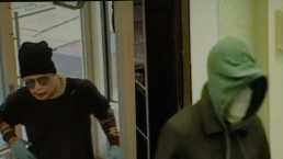 Police search for 'phantom four' bank robbers