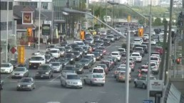 Mayoral candidates Tory, Chow announce plans to ease traffic congestion