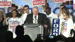 Party atmosphere at Ford's campaign launch