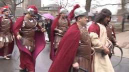 Mayoral candidates attend Good Friday procession