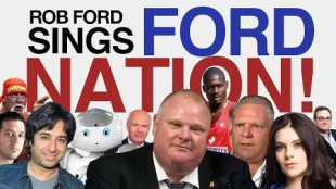 "Rob Ford Sings ""Ford Nation!"""