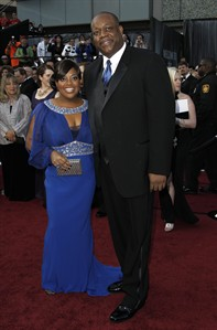 FILE - In this Feb. 26, 2012 file photo, Sherri Shepherd and Lamar Sally arrive before the 84th Academy Awards in the Hollywood section of Los Angeles. Court records show Sally filed for legal separation from Shepherd in Los Angeles on May 2, 2014, citing irreconcilable differences and custody of the pair's unborn child. (AP Photo/Matt Sayles, file)