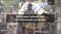 Leader of terror group says he'll sell abducted Nigerian schoolgirls