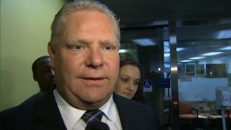 Doug Ford said it was him spotted at Tim Hortons & not Mayor Ford