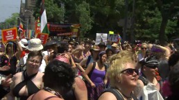 Dyke March rolls through Toronto at WorldPride 2014