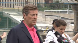 John Tory reacts to Mayor Rob Ford's apology