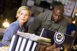 """Kathleen Robertson and Taye Diggs star in """"Murder in the First,"""" airing Monday nights on Bravo. THE CANADIAN PRESS/ HO-Bell Media"""