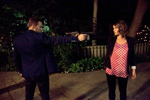 """Peter Mooney and Missy Peregrym star in """"The Proposal,"""" a Canadian action short film that will screen at Comic-Con on Thursday. THE CANADIAN PRESS/ HO-Entertainment Publicity"""