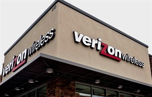 FILE - This Oct. 17, 2012 file photo, shows a Verizon Wireless store in Little Rock, Ark. Verizon Communications Inc. reports quarterly financial results before the market opens Tuesday, July 22, 2014. (AP Photo/Danny Johnston, File)
