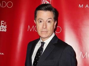 Stephen Colbert is pictured in New York onn. 31, 2014. THE CANADIAN PRESS/AP, Starpix, Amanda Schwab