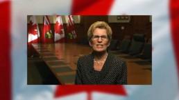 Video: Premier Wynne's Canada Day message