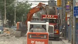 TTC construction rattles east-end neighbourhood
