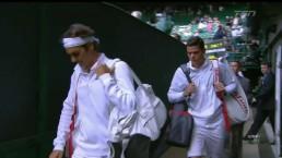 Federer beats Raonic in Wimbledon semi-final match