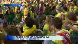 Toronto celebrates Brazil & Germany World Cup wins
