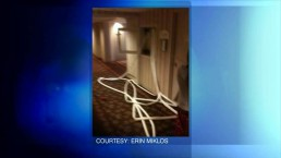 Man charged with mischief after hotel evacuated
