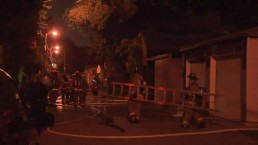 No one hurt in east-end garage fire