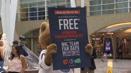 Phil Pritchard on NHL team fan days at Hockey Hall of Fame
