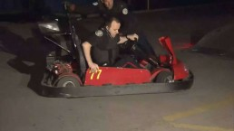 Thieves take swiped go-karts for joy ride at Sugar Beach