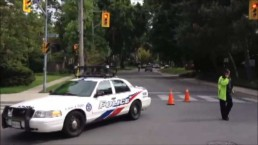 Child hospitalized after being struck in Toronto