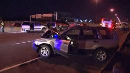 2 hospitalized following multi-vehicle crash on Hwy. 401