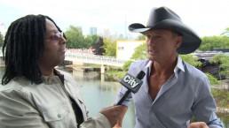 Interview: Tim McGraw discusses new album, 'Sundown Heaven Town'