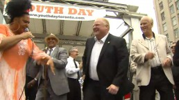Toronto mayoral candidates show off dance moves at weekend events