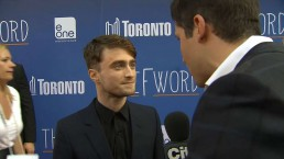 Raw video: Daniel Radcliffe discusses 'The F Word' in Toronto
