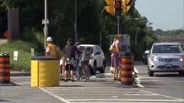 Pedestrian safety concerns raised over Eglinton LRT construction