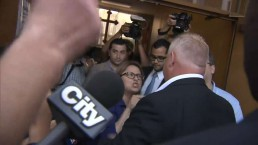 Police called in before Toronto mayoral debate