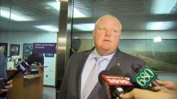 Mayor Ford reacts after Chief Bill Blair's contract not renewed