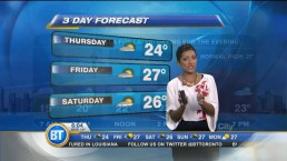 Morning Weather Webcast: July 31, 2014