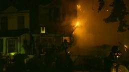 2-alarm fire destroys home in Leslieville