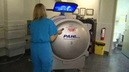 More doctors turning to oxygen therapy to treat variety of ailments