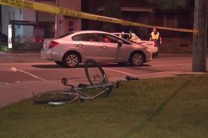 Banff Road pedestrian struck