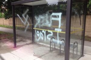 Thornhill vandalism