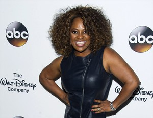 """FILE - This May 14, 2014 file photo shows actress-comedian and co-host of """"The View"""", Sherri Shepherd at """"A Celebration of Barbara Walters"""" at The Four Seasons Restaurant in New York. Shepherd will play the wicked stepmother for Cinderella on Broadway. Shepherd said on the daytime chat show Tuesday, Aug. 5, that she will make her Broadway debut in the musical opposite Keke Palmer in the title role on Sept. 9 at the Broadway Theatre. (Photo by Charles Sykes/Invision/AP, File)"""