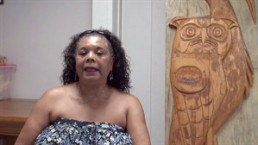 Kwikwetlem First Nation member Sylvia Myers speaks in a video posted to YouTube on Aug. 7, 2014. THE CANADIAN PRESS/HO, YouTube - Kwikwetlem First Nation