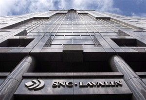 The offices of SNC-Lavalin are pictured on March 26, 2012 in Montreal. THE CANADIAN PRESS/Ryan Remiorz