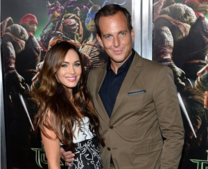 """Megan Fox and Will Arnett arrive at special screening of """"Teenage Mutant Ninja Turtles"""" at AMC Lincoln Square on Wednesday, Aug. 6, 2014, in New York. (Photo by Evan Agostini/Invision/AP)"""