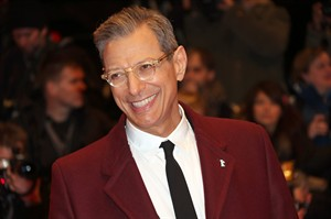 "FILE - This Feb. 6, 2014 file photo shows actor Jeff Goldblum at the screening of the film The Grand Budapest Hotel and opening night of the 64th Berlinale International Film Festival in Berlin. The Cafe Carlyle said that the ""Jurassic Park"" star will perform Sept. 16–20 with his jazz band, The Mildred Snitzer Orchestra. The actor has sung and played piano with the band for years but the new dates mark their New York premier. (Photo by Joel Ryan/Invision/AP, File)"