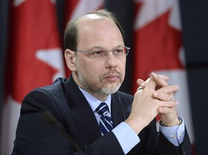 Correctional Investigator of Canada Howard Sapers speaks during a news conference in Ottawa on November 26, 2013. Federal correctional authorities are getting in the way of an investigation into drug-prescribing practices for inmates by withholding relevant information, Canada's prisons ombudsman says. Correctional Investigator Howard Sapers says the failure to turn over the material requested by his office is particularly galling given that Correctional Service Canada released the data to a media outlet. THE CANADIAN PRESS/Adrian Wyld