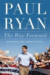 """HOLD FOR RELEASE AT 12:01 A.M. EDT AND THEREAFTER ON TUESDAY, AUG. 19, 2014 - This image provided by Twelve Books shows the cover of Rep. Paul Ryan's, R-Wis., new book. As Congress hurtled toward a government shutdown in the fall of 2013, Ryan looked around at fellow Republicans who were agitating to shutter national parks, federal agencies and Head Start programs. """"This can't be the full measure of our party and our movement,"""" Ryan writes of that moment in his new book, released Tuesday. """"If it is, we're dead and the country is lost."""" (AP Photo/Twelve Books)"""