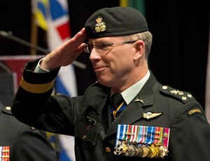 Lt.-Gen. Stuart Beare is shown in this file photo in Ottawa on Friday, October 5, 2012. Canada will send troops, jets and warships to participate in a massive NATO training exercise next year in a deployment that could be the first step towards deeper involvement in the alliance's long-term strategy to counter a resurgent Russia.THE CANADIAN PRESS/Sean Kilpatrick