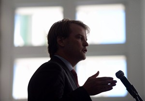 Immigration Minister Chris Alexander speaks during an event in Ottawa on June 20, 2014. Activists and legal experts say Canada's refugee policy regularly threatens to break up families and often fails to take into consideration the interests of the children involved. THE CANADIAN PRESS/Sean Kilpatrick