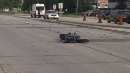 Motorcyclist dies following collision in Mississauga