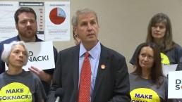 David Soknacki discusses his police budget plan