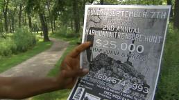 Medical marijuana scavenger hunts held in Toronto